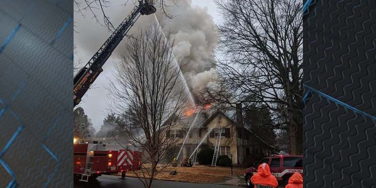 3 people escape fire at 101-year-old home in Petersburg