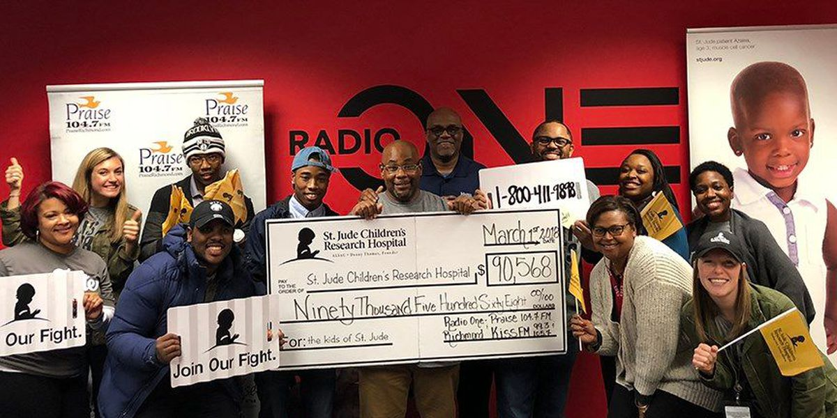 Radio One helps to raise $90,000 for St. Jude
