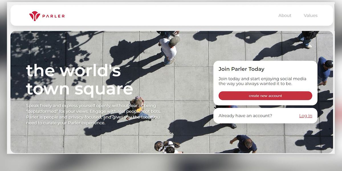Right-wing friendly Parler announces re-launch