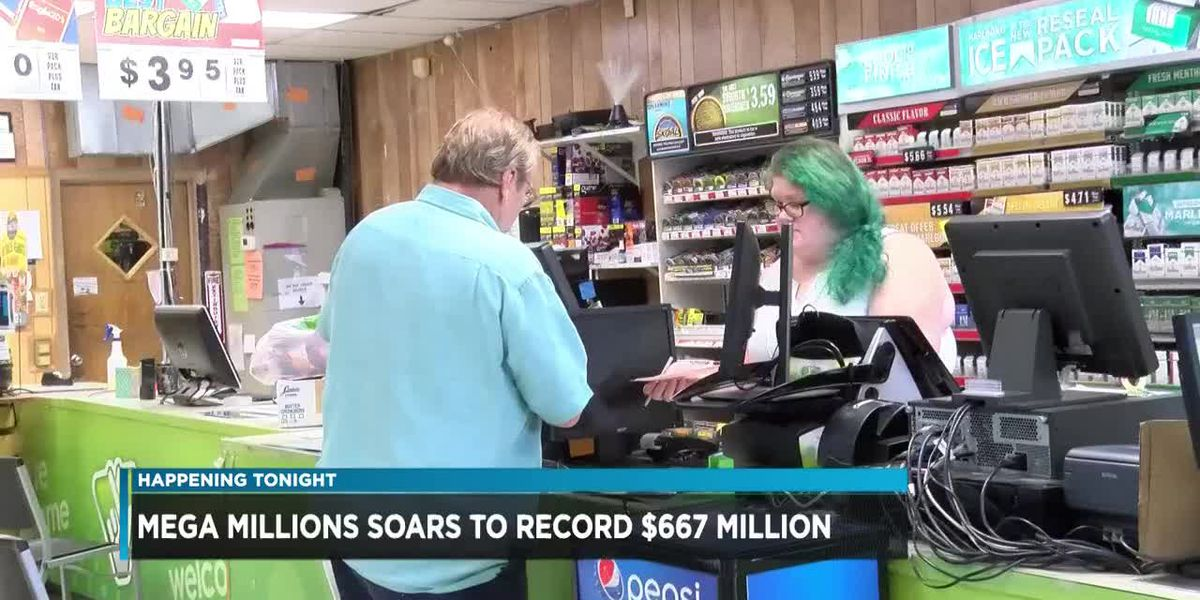 Do you have the winning Mega Millions Ticket? Prize soars to $667 million