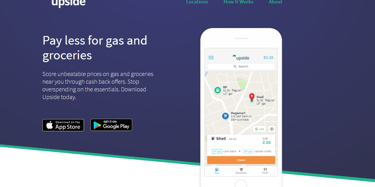 More Bang For Your Buck: Cash back app for gas