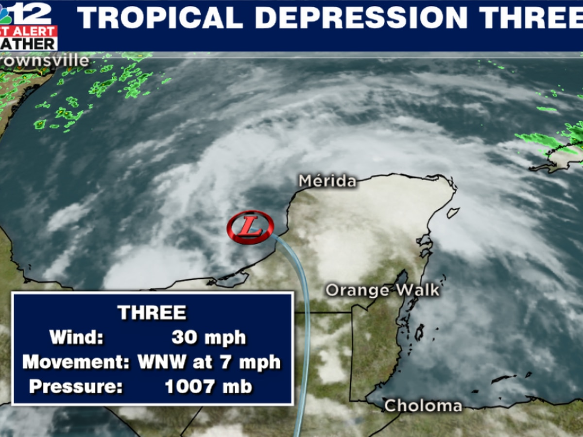 Cristobal now Tropical Depression