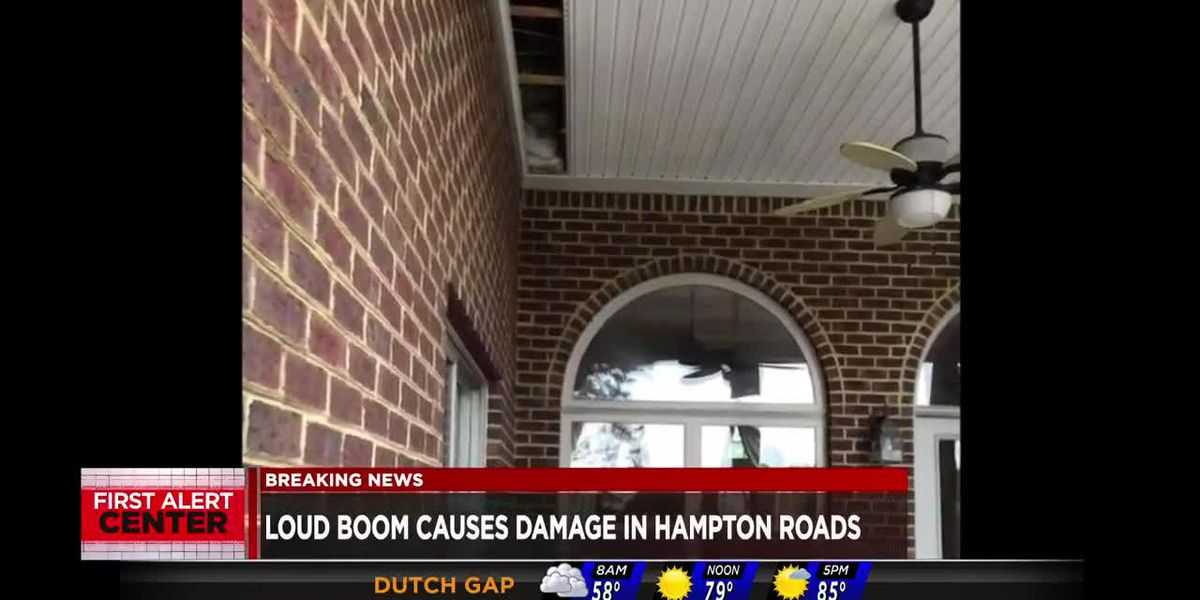 Mystery boom rattles Virginia Beach area
