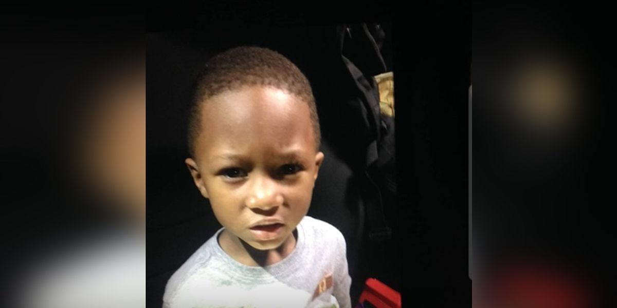 Police find lost child's family