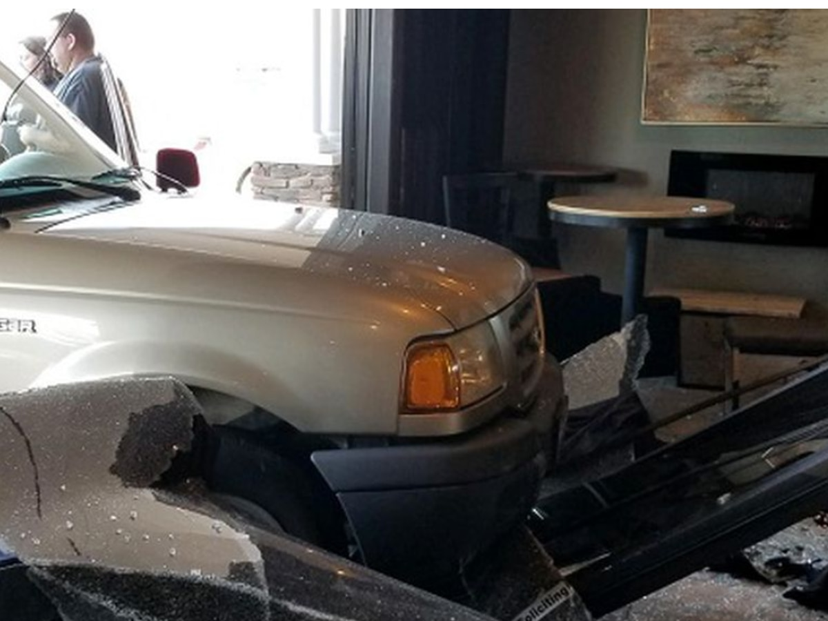 No one hurt when driver hits Virginia restaurant
