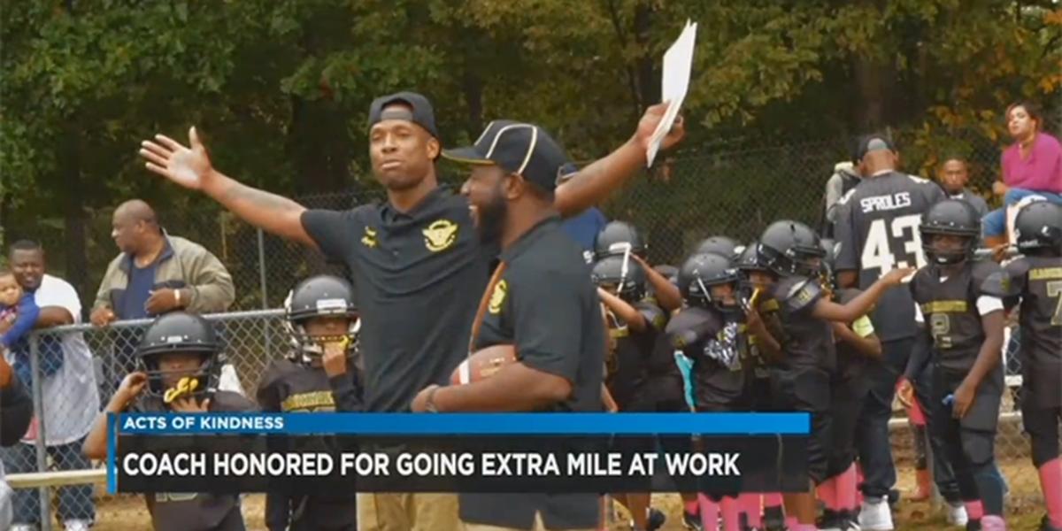 Acts of Kindness: Coach honored for going extra mile at work