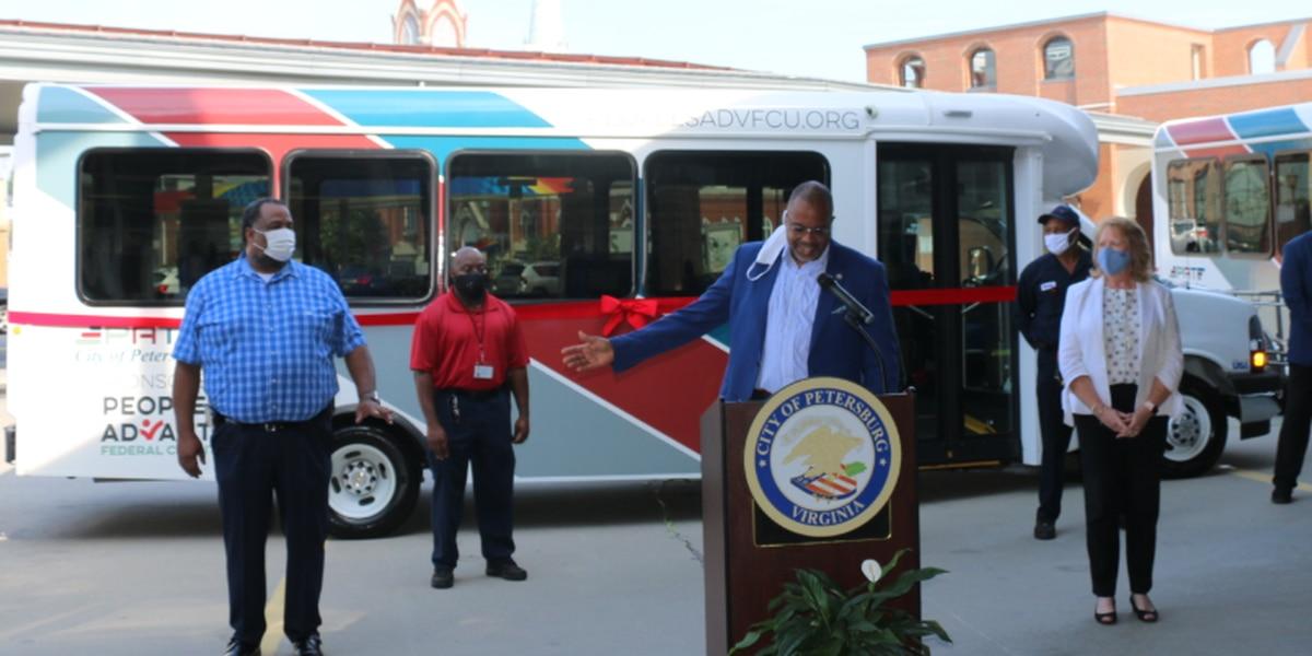 Petersburg Area Transit unveils seven new buses