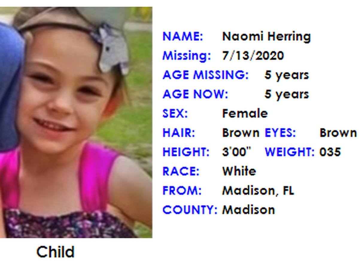 AMBER Alert issued for missing 5-year-old in Madison, Fla.