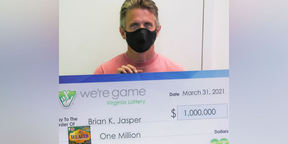 Man says $1 million Virginia Lottery prize will help his small business