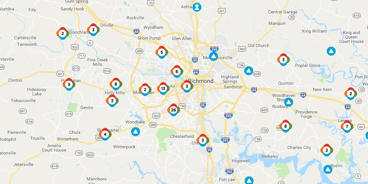 Thousands lose power after storms move through
