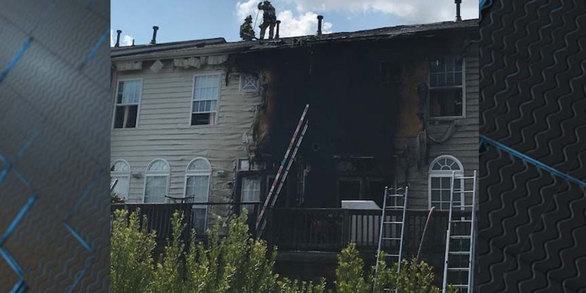 Fire scorches Henrico apartment building