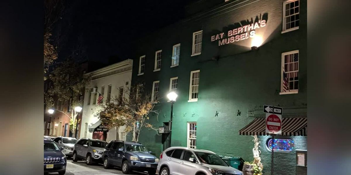 Ghost or optical illusion? Spooky photo captured above restaurant