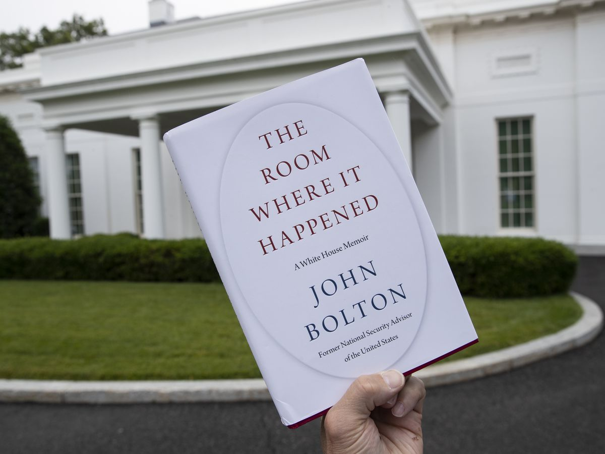 Judge says government's suit over Bolton book can proceed