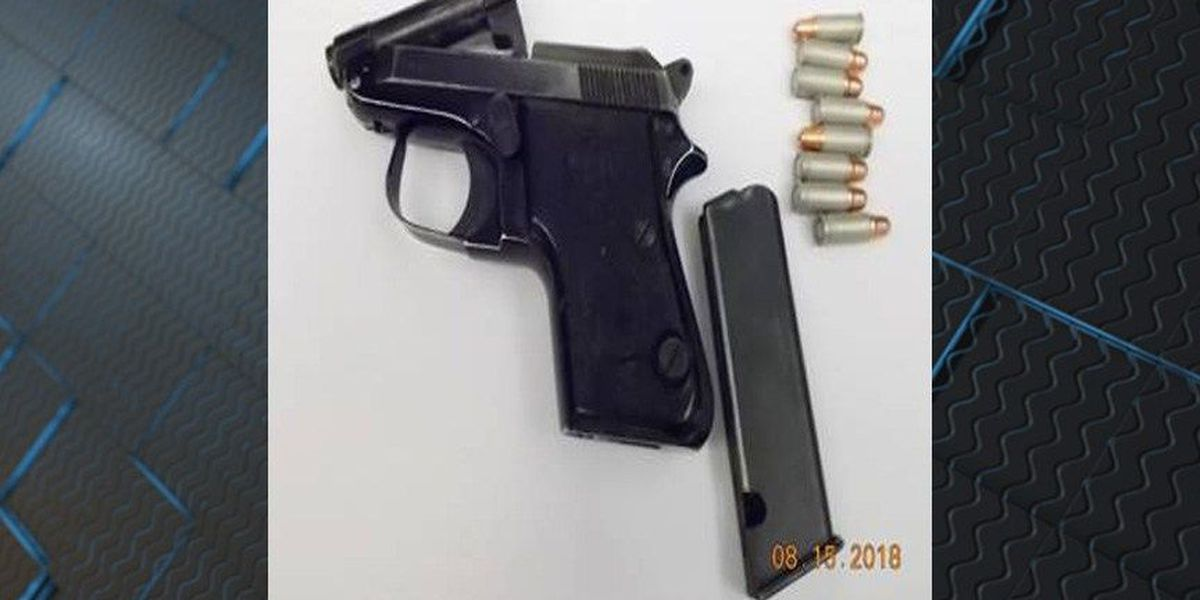 Man caught with loaded handgun at airport arrested