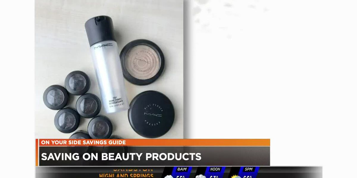 Saving on beauty products
