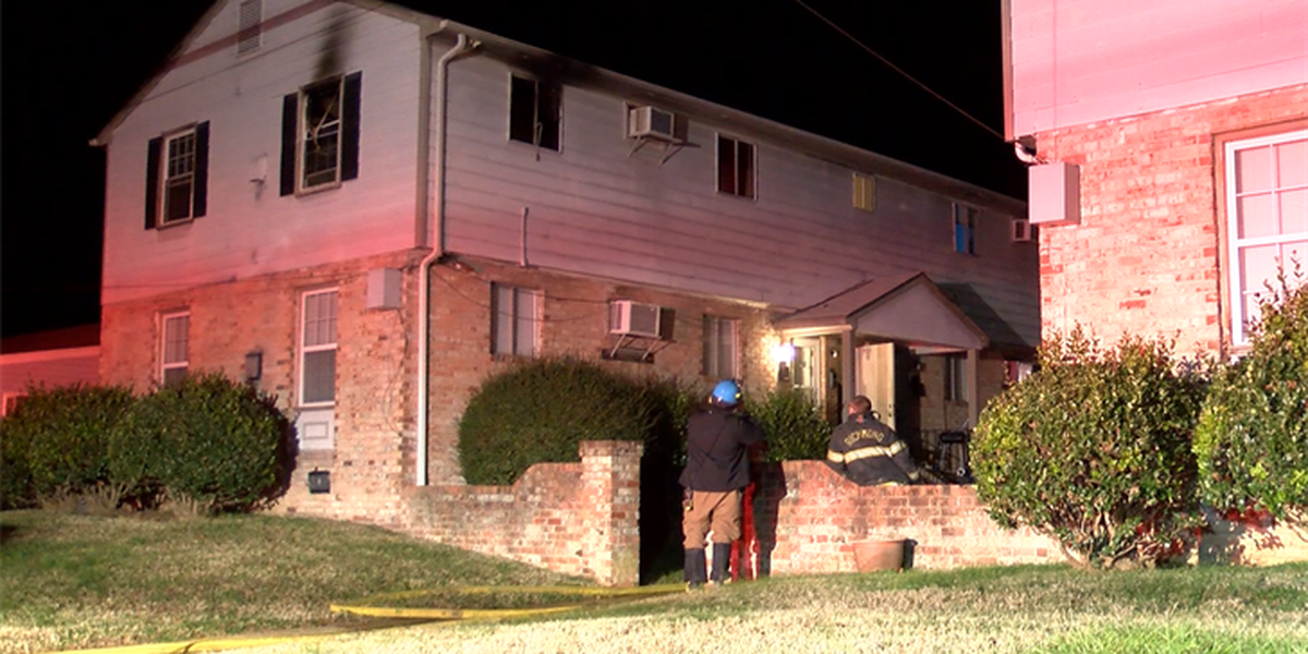 Man rescued from second-story apartment fire