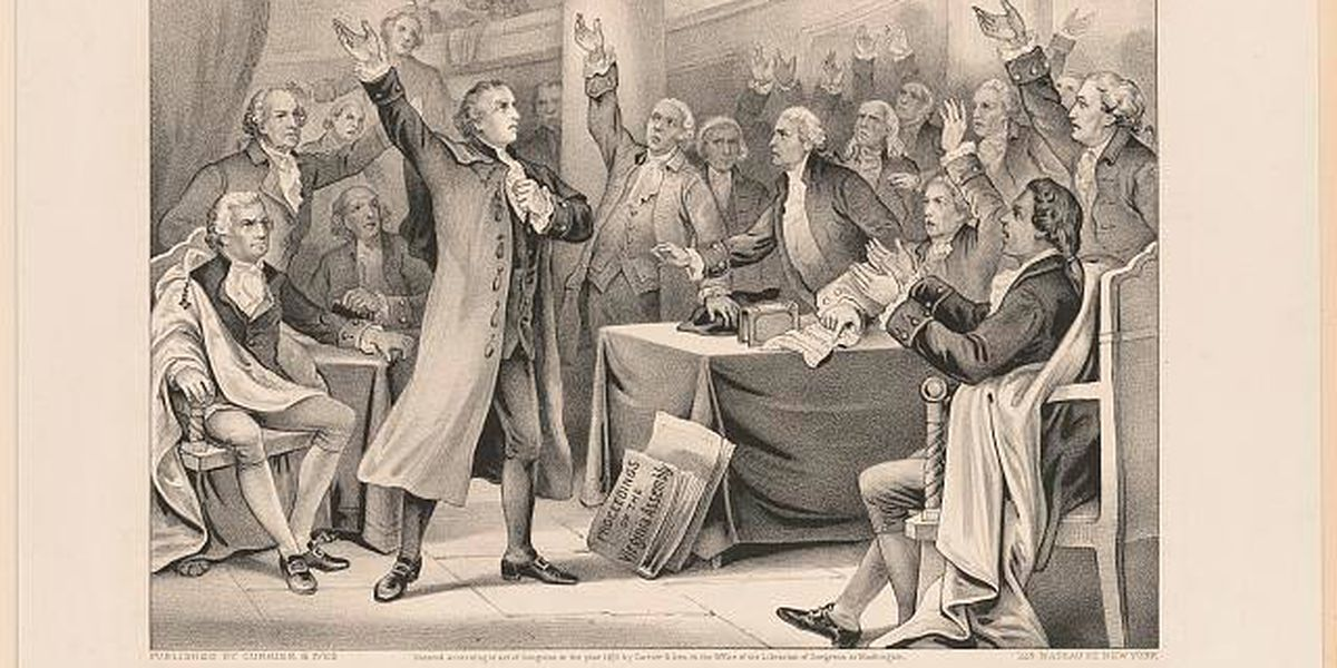 On This Day: Patrick Henry delivers his famous 'Liberty or Death' speech