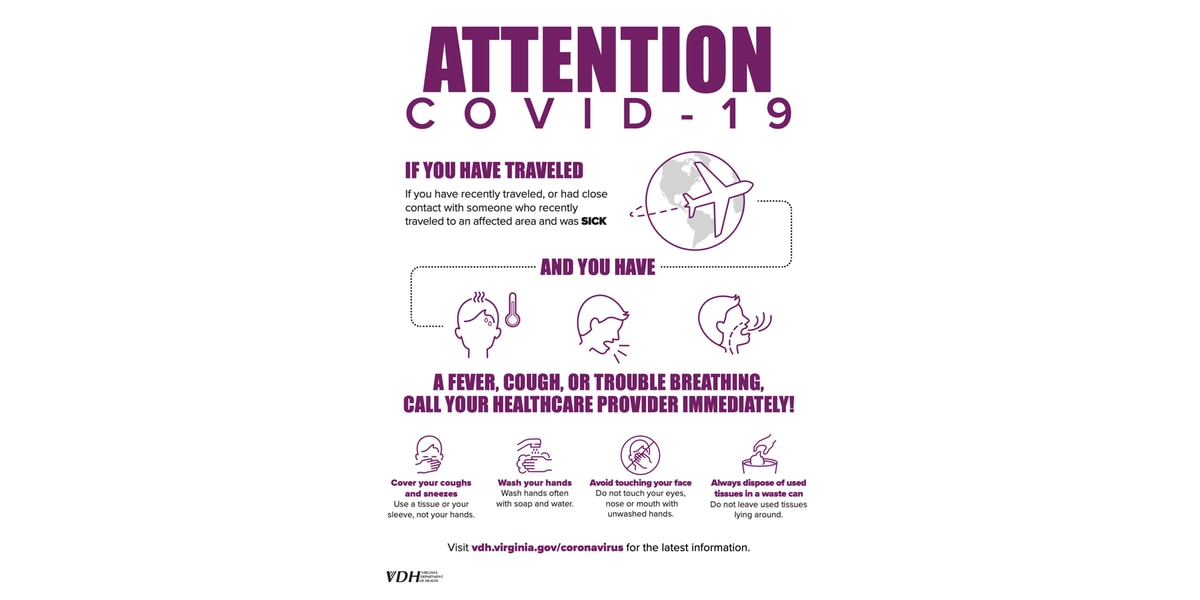 Mayor Stoney and health department offers advice on preventing coronavirus
