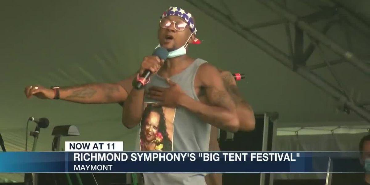 'Big Tent Festival' features Richmond Symphony, funds instruments for RPS students