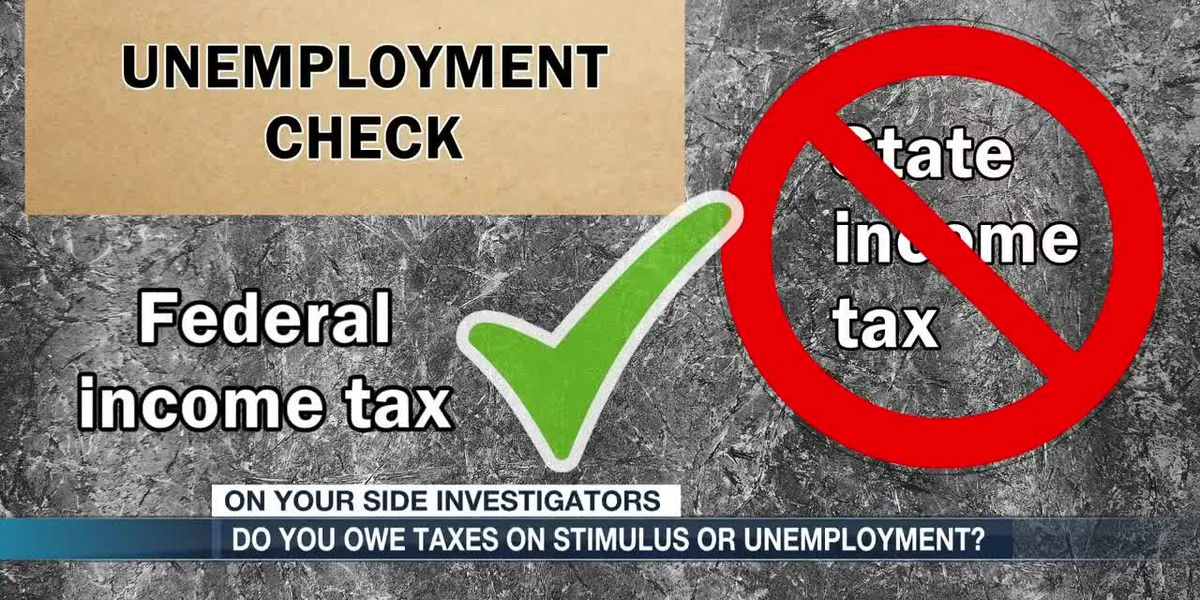 Do you owe taxes on stimulus or unemployment?