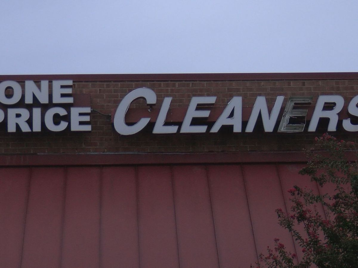 Customers seek help after clothes trapped inside closed dry cleaning business