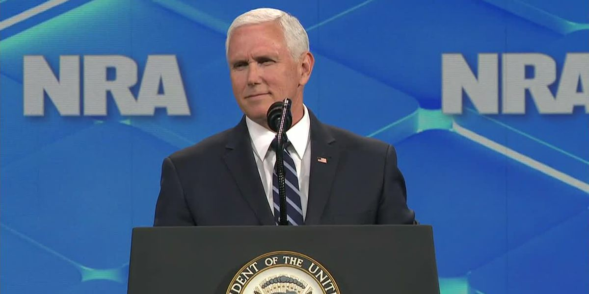 Pence: No one is taking your guns