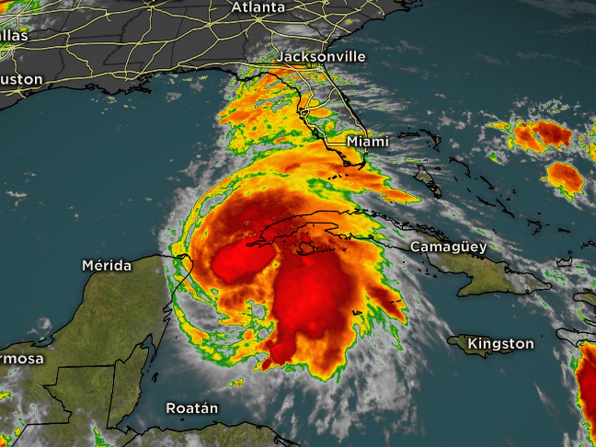 Michael strengthens into a Category 4 overnight