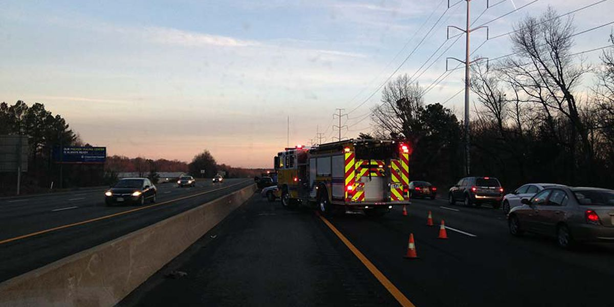 Driver charged in 4-vehicle crash on I-95N in Chesterfield