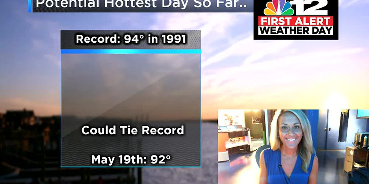 First Alert Weather Day: Record-setting heat possible Sunday