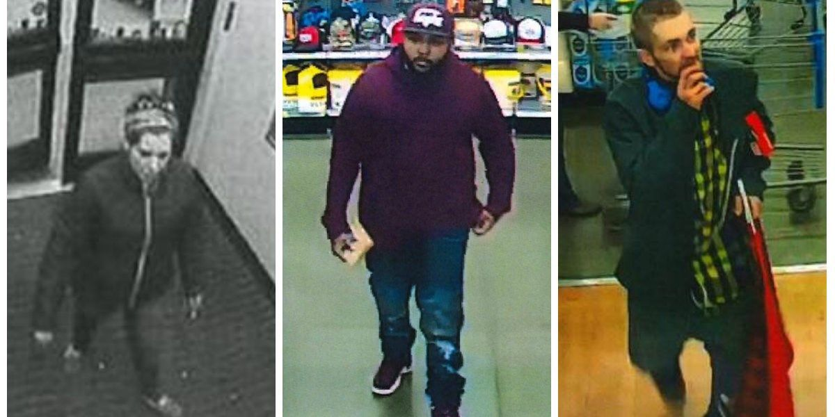 Deputies search for Walmart thieves caught on camera