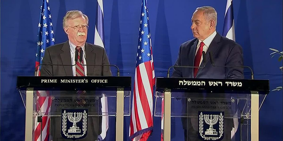 Bolton adds caveats to Syria withdrawal