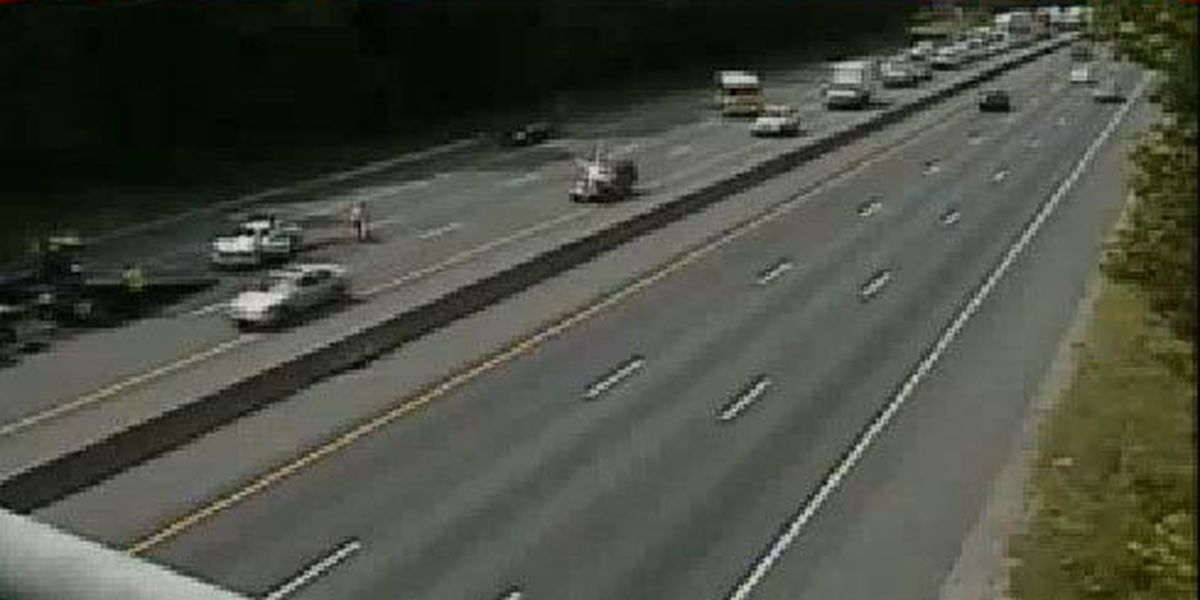 I-95S reopened in Chesterfield following crash