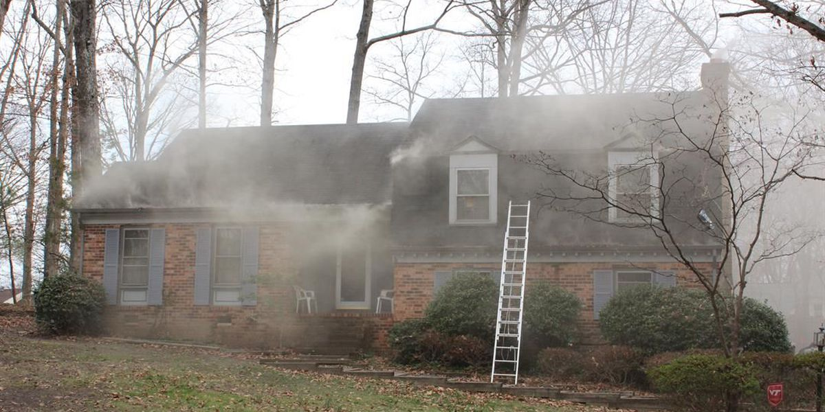 Person injured in house fire; family displaced