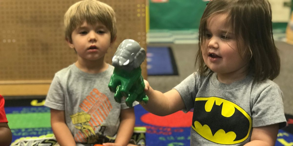 Job of a lifetime: Toy testing at a pre-school