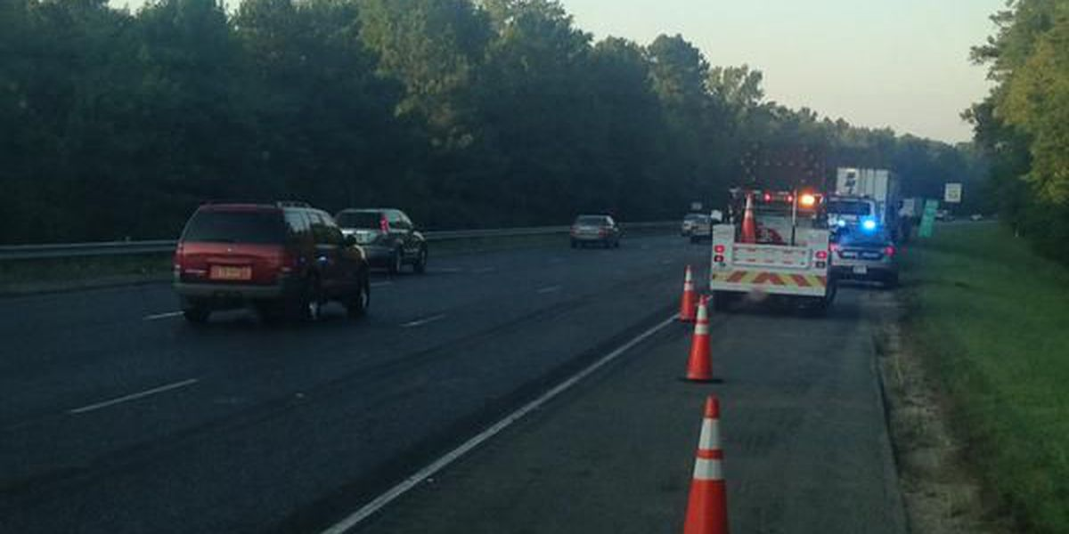 All lanes open after tractor-trailer accident on I-95S near Kings Dominion