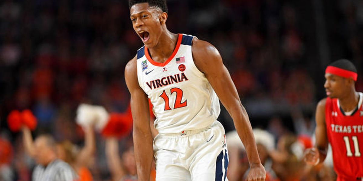 UVA's Hunter selected fourth overall in NBA Draft