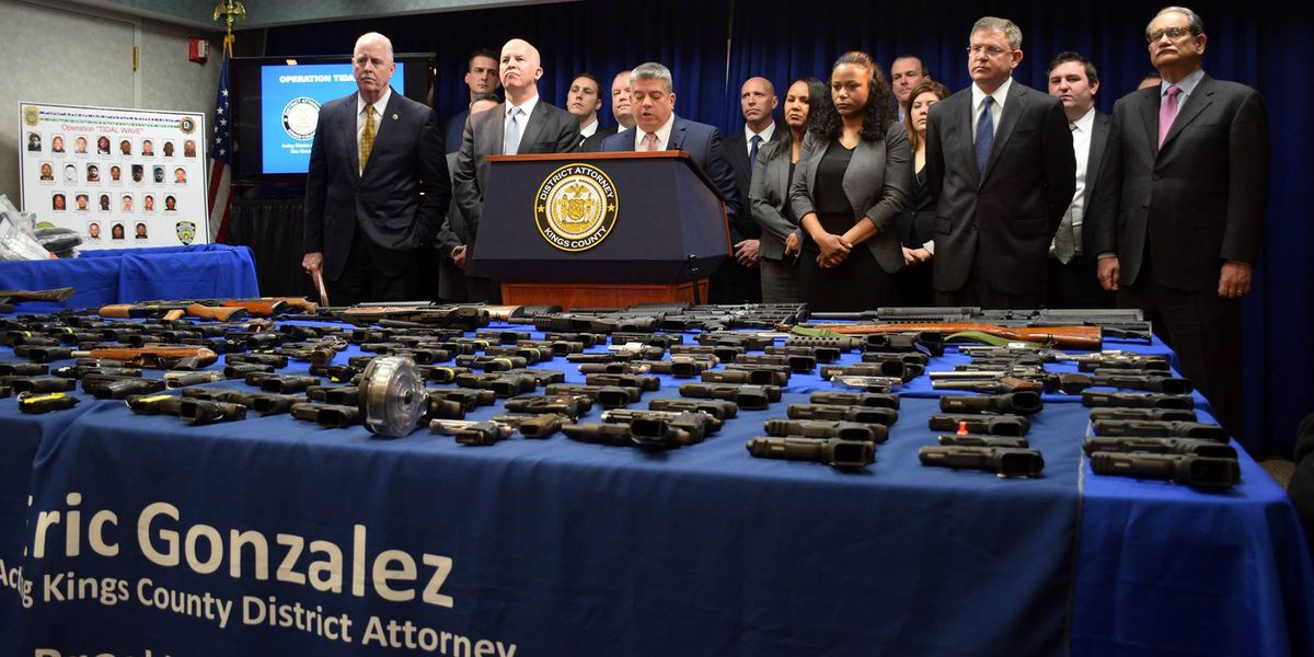 Richmond Police Chief calls for change in gun laws after Brooklyn bust