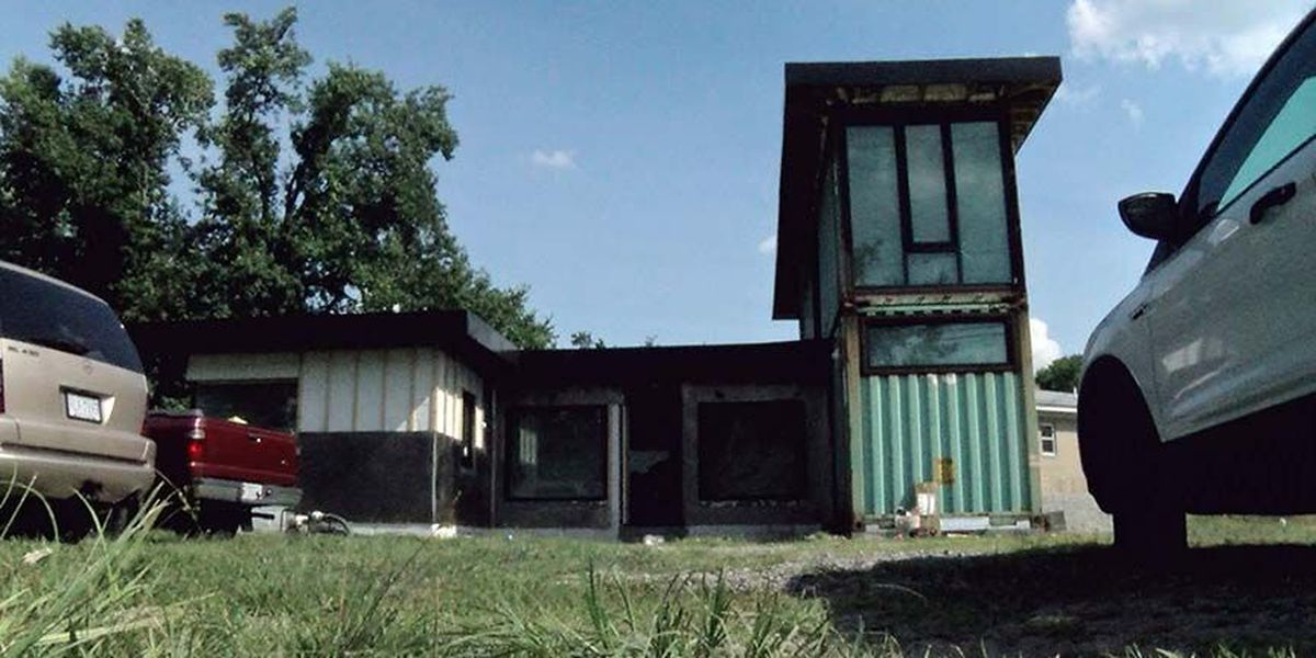Henrico man doubles size of house with shipping containers