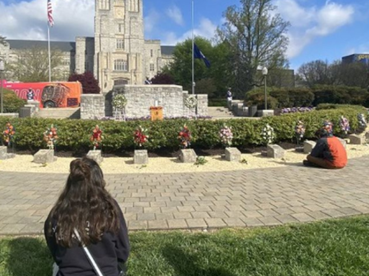 Virginia Tech commemorates 14th anniversary of mass shooting; flags lowered