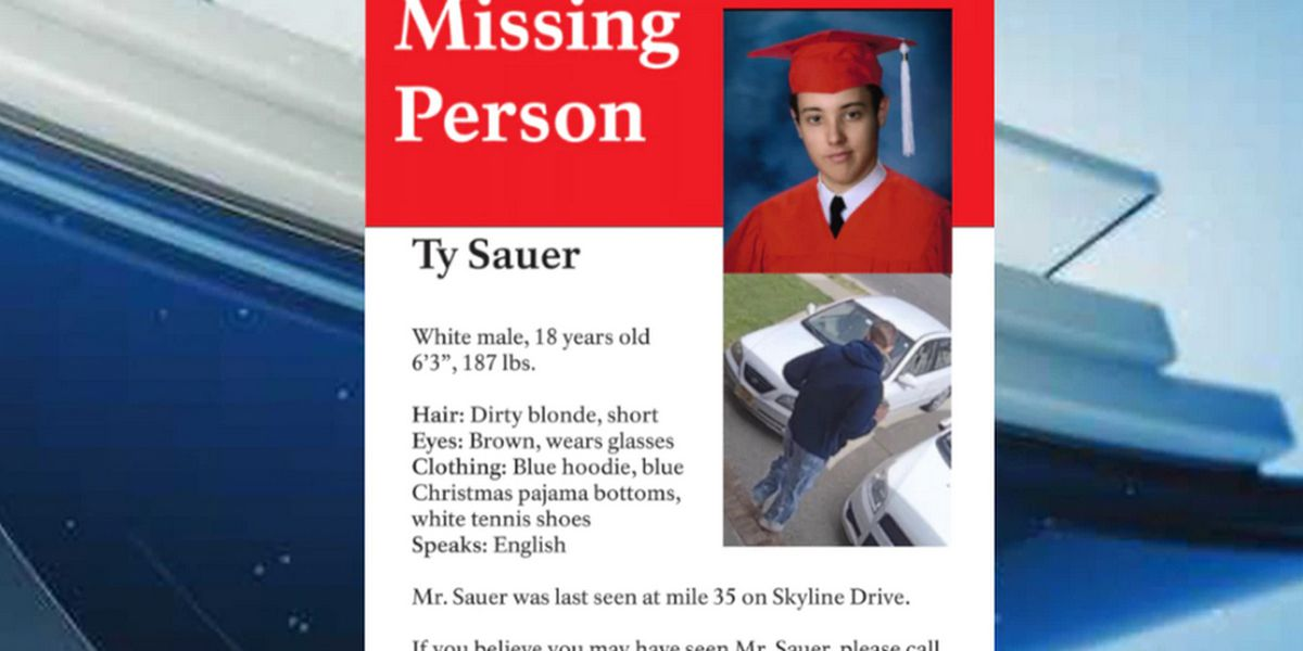 Shenandoah Nat'l Park continues search for missing teen