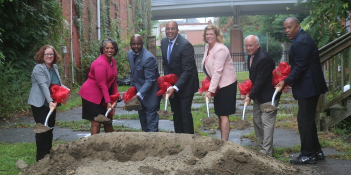 Petersburg breaks ground on new park & ride facility
