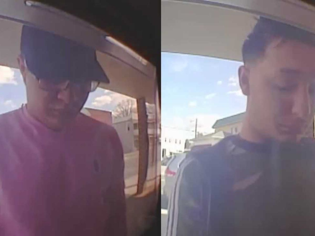 Police searching for 2 men who installed skimmers on bank ATM