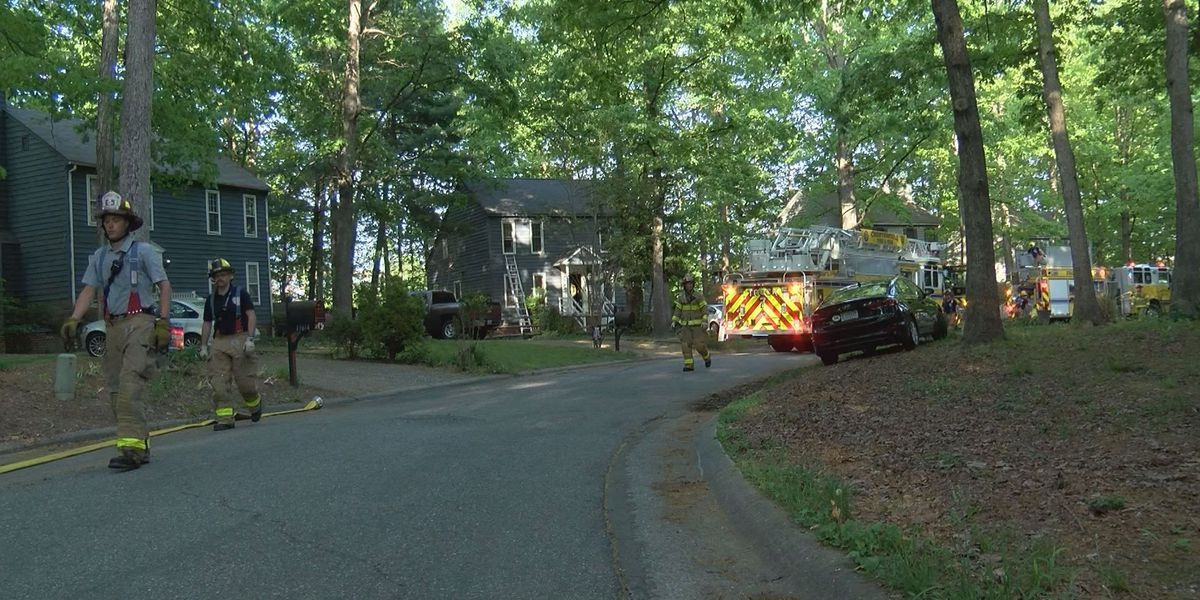 Chesterfield family displaced due to dryer fire