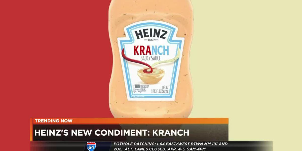 Heinz's new condiment: kranch