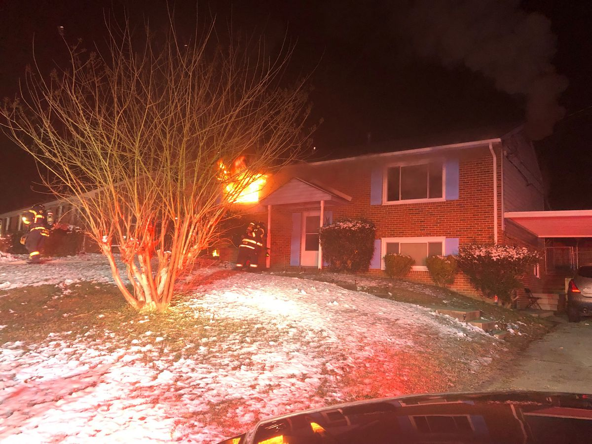 Petersburg family displaced after early morning house fire