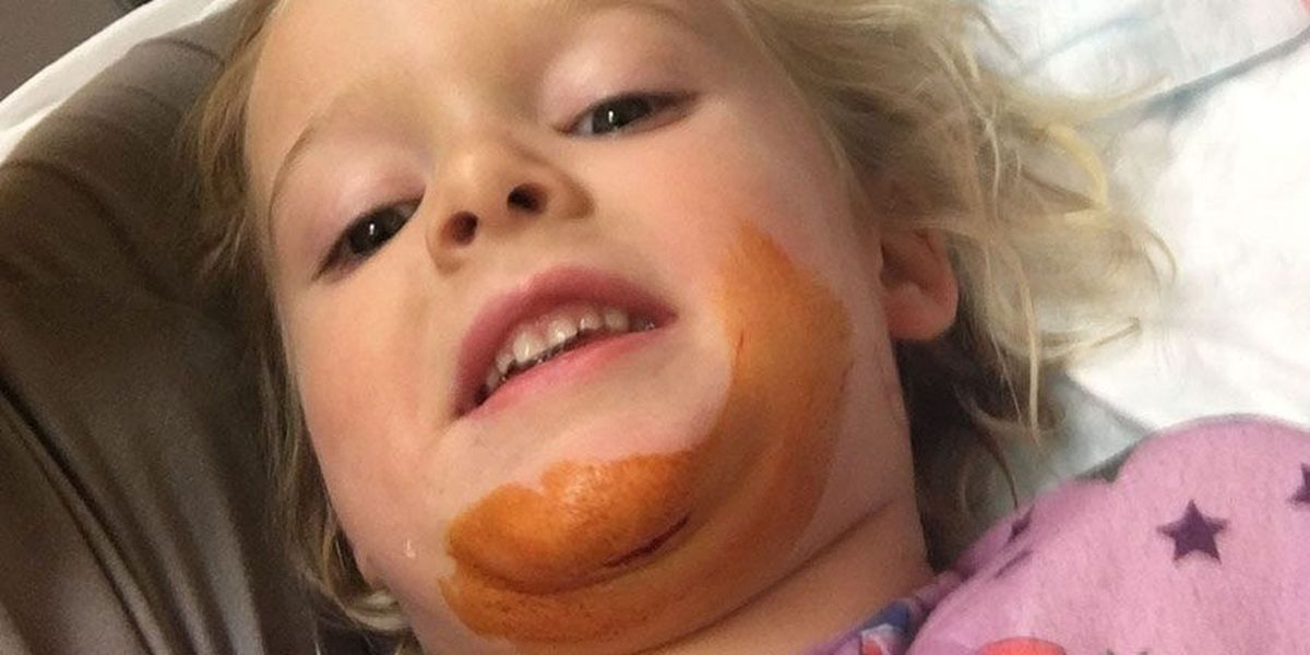 A pediatric ER visit that saved Cora's chin