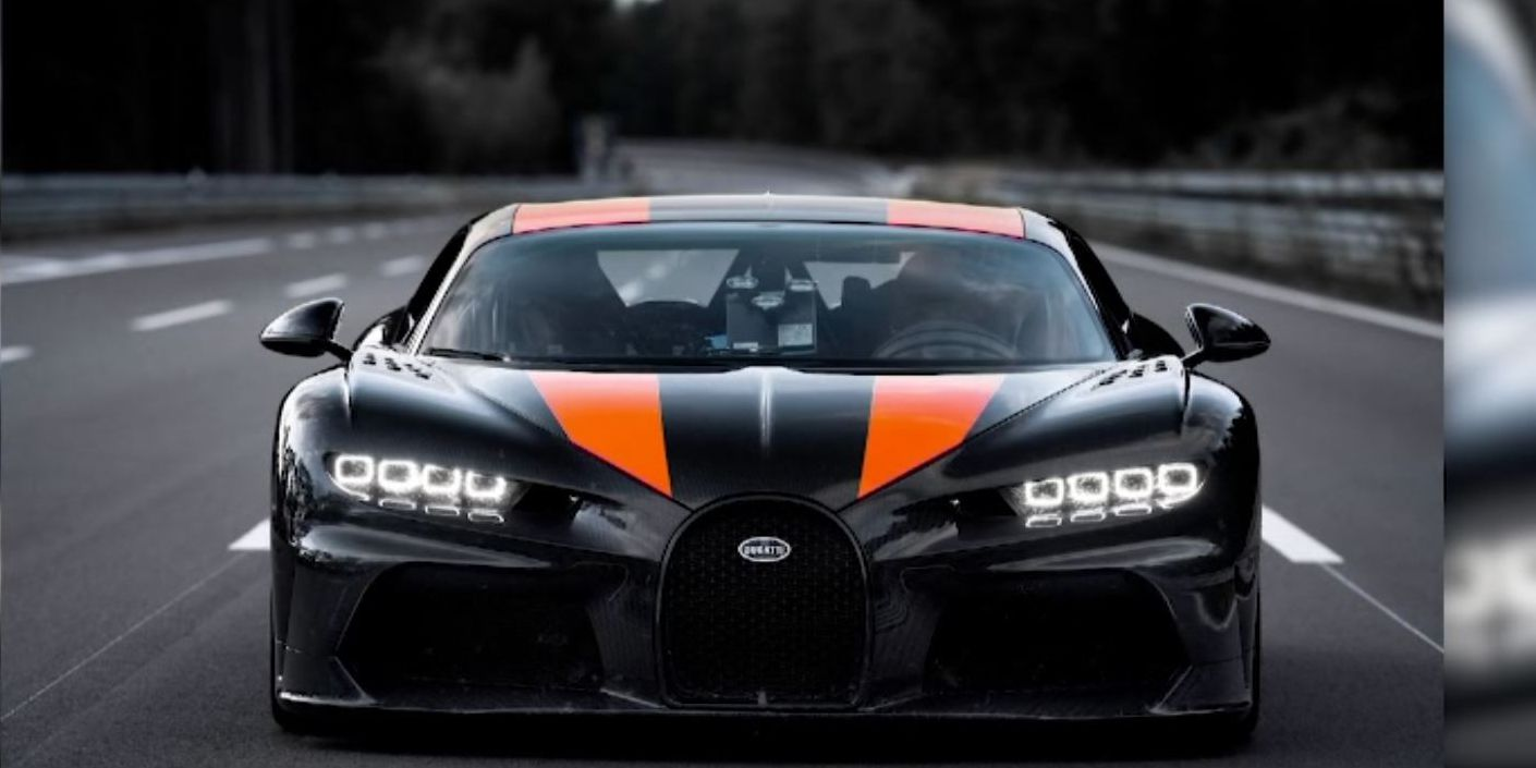 Watch: Bugatti sets world speed record of 304. 8 mph