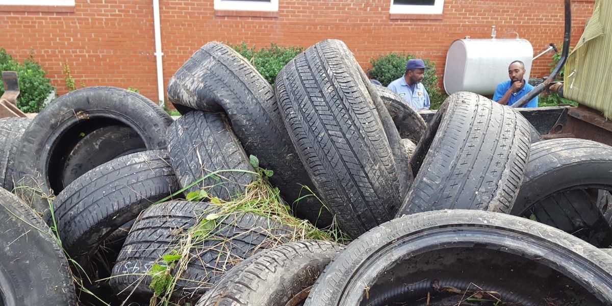 Neighbors angry after illegal tire dumping resumes