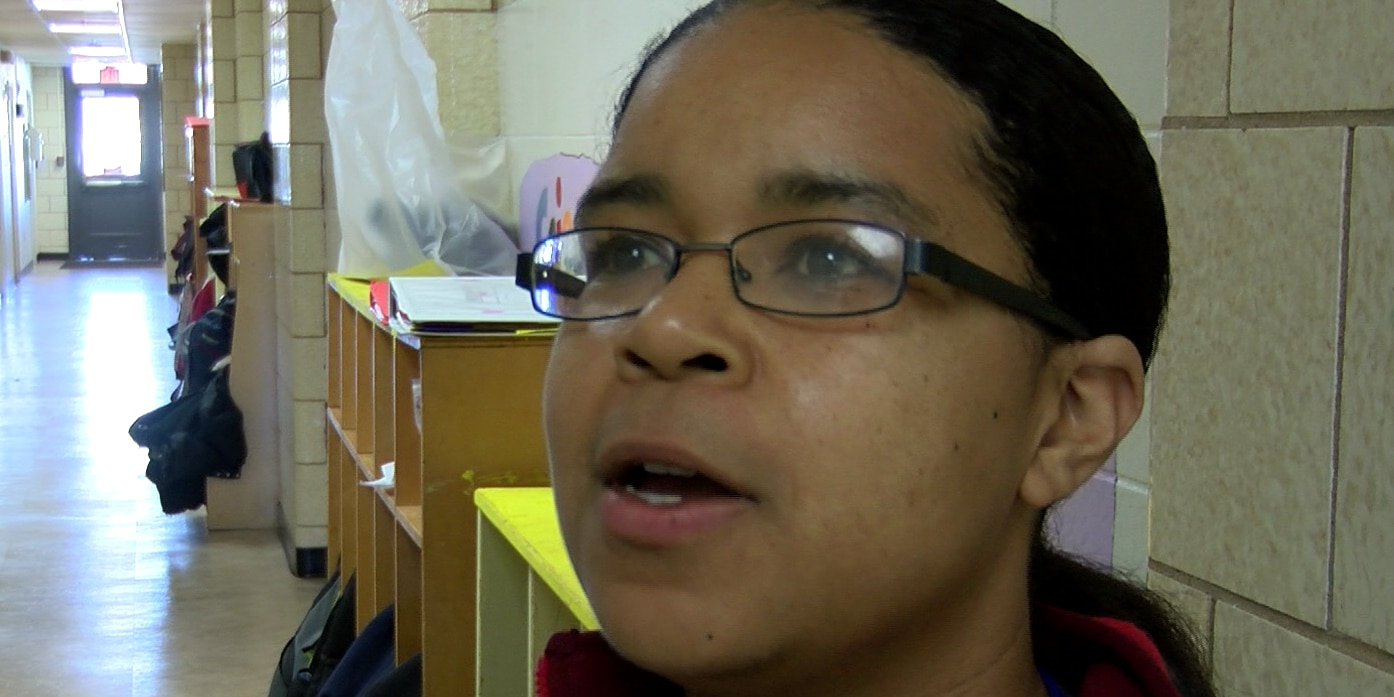 Teacher awarded for giving special attention to students, teaching them positive habits