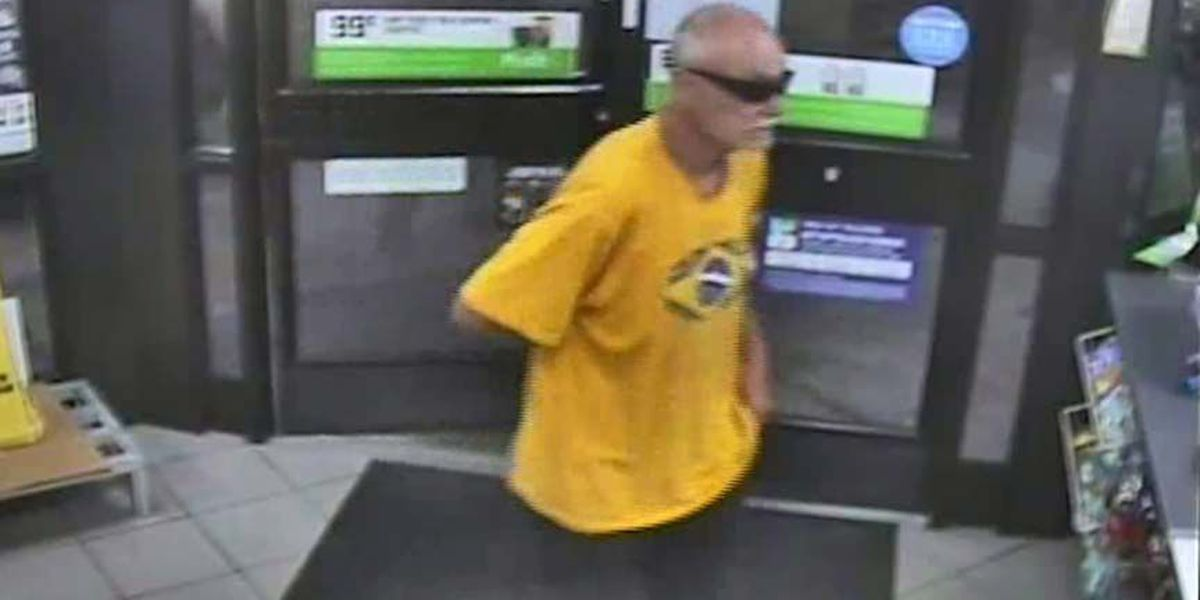 Balding man with knife robs 7-Eleven